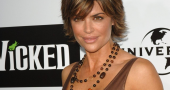 Lisa Rinna thanks fans for buying her gown at QVC Red Carpet Style show