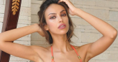 Madalina Ghenea emerges as male fantasy with unclothed scene in