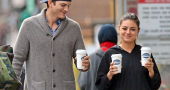 Mila Kunis takes brief break from busy working schedule