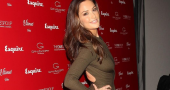 Minka Kelly looking great despite sweat patches following gym session