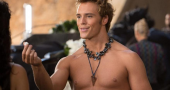Sam Claflin says he would love to play a comic book movie villain