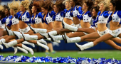 The Dallas Cowboys Cheerleaders enhance the brand of the team throughout the world