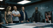 Tyrese Gibson says an emotional farewell to Paul Walker at crash site