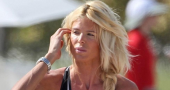Victoria Silvstedt in red dress at IWC gala reminds fans she is still elite model