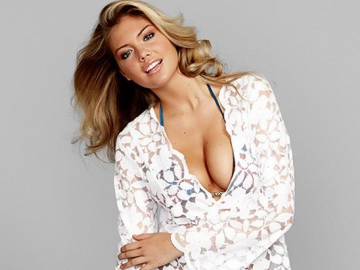 Kate Upton gets groped by a model friend