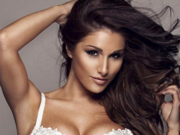 Lucy Pinder has celebrity crush on Ricky Gervais