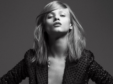 Anna Selezneva heats up Vogue pages with 'sophisticated' topless photo