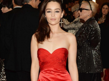Emilia Clarke is the new face of Dior's jewellery collection