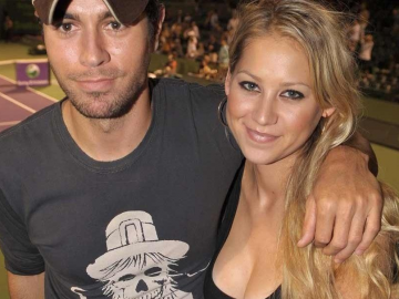 Enrique Iglesias and Anna Kournikova relationship is not perfect