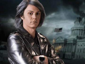 Evan Peters teases a bigger and better Quicksilver scene in X-Men: Apocalypse