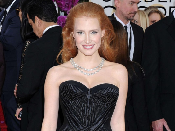 Jessica Chastain earns Hollywood insider applause with Empire Awards dress