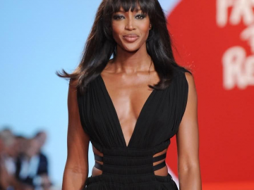Naomi Campbell does not see much of herself in her Empire character