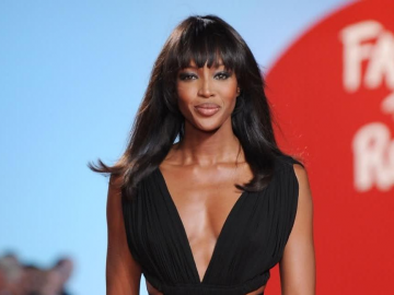 Naomi Campbell rocks 'topless' look for 'Interview' magazine