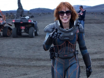 Noomi Rapace, Michael Fassbender and Katherine Waterston prepare to start shooting new movie Alien: Covenant