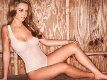 One to Watch: Potential new Kate Upton model Lauren Hanley