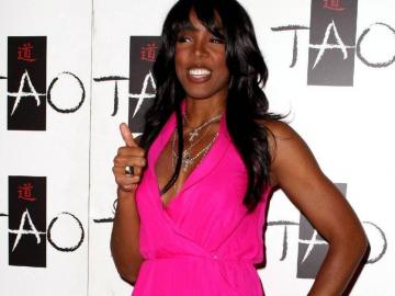 Pregnant Kelly Rowland getting great support from husband Tim Witherspoon‏