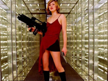 The very beautiful and talented Milla Jovovich