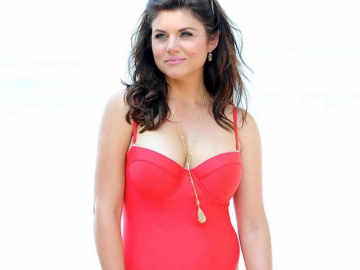 Tiffani Thiessen and healthy eating