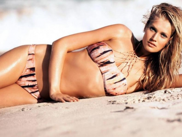 Toni Garrn to do more acting following Under the Bed performance?