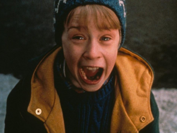 Top 10 Christmas Movie Characters: No.1 - Macaulay Culkin as Kevin in Home Alone