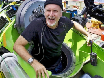 What is James Cameron doing with the Avatar sequels?