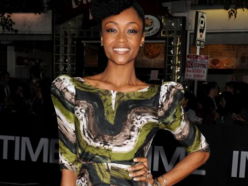 Yaya DaCosta, Bre Scullark, J. Alexander: New York models doing their thing