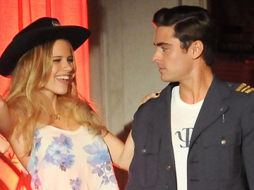 Zac Efron and Halston Sage dating rumours continue