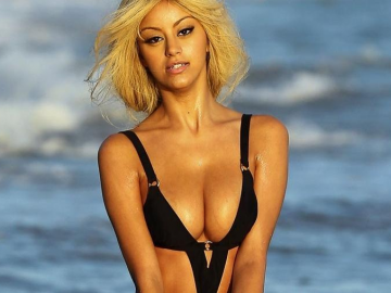 Zahia Dehar claims she is all natural and has never had surgery