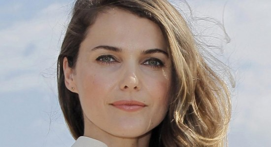Keri Russell promoting 'The Americans'