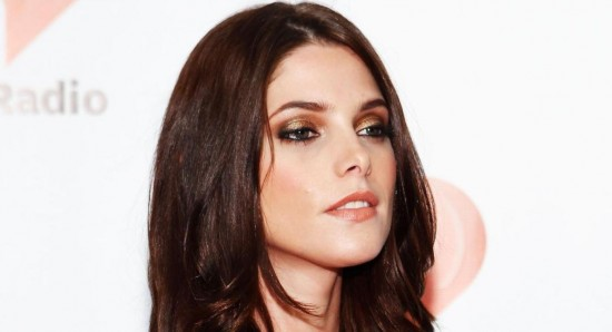 Ashley Greene brings sophisticated style to Santa's lap at holiday party
