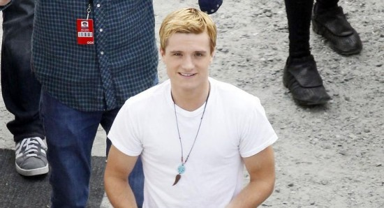 Josh Hutcherson on Kissing Jennifer Lawrence for 'Hunger Games: Catching Fire'