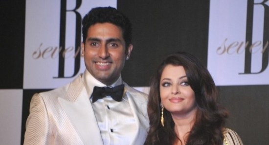 Aishwarya Rai Bachchan with husband