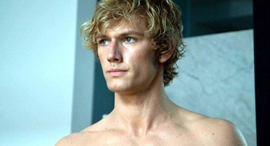 Alex Pettyfer is a speed demon