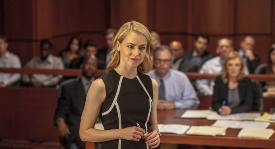 Amanda Schull in courtroom