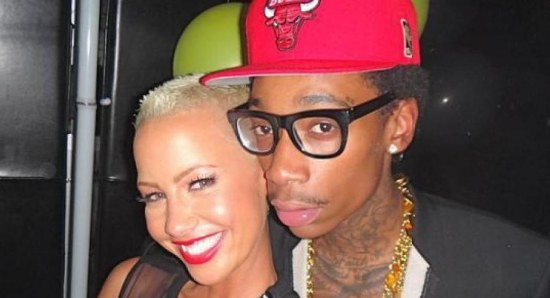 Amber Rose and Wiz Khalifa have resumed their wedding plans
