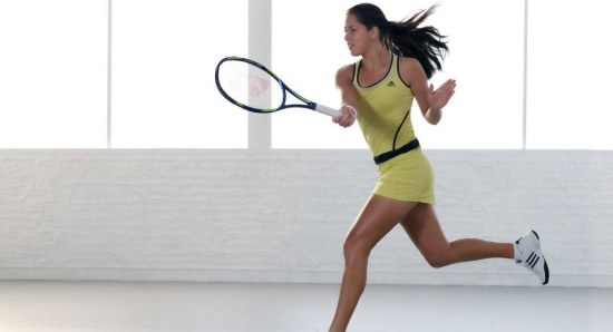 Ana Ivanović in commercial for Adidas