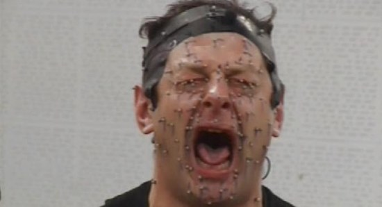 Andy Serkis doing what he does best
