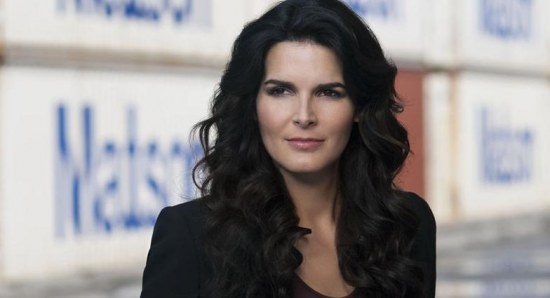 Angie Harmon is a television star