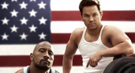 Pain and Gain is coming out this weekend, and stars Dwayne Johnson and Mark Wahlberg