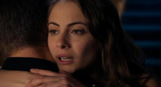 Willa Holland plays Thea Queen in Arrow