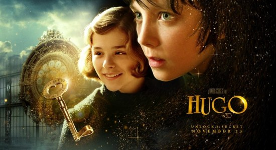 The poster for 'Hugo'