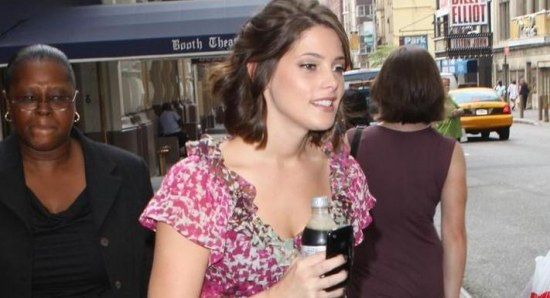 Ashley Greene out and about in NYC