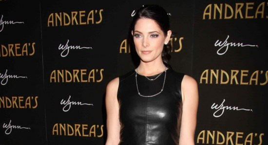 Ashley Greene looking great in black outfit