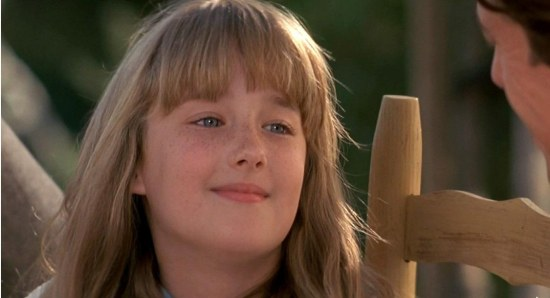 Ashley Johnson in her early years