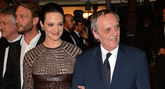 Asia Argento looking glamorous on red carpet
