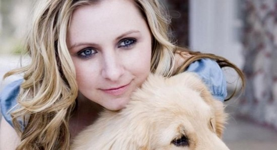 Beverley Mitchell is a new mother