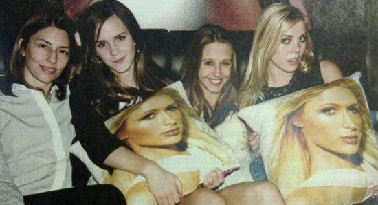 Sofia Coppola with the 'Bling Ring' cast in EW