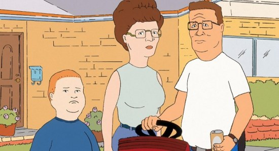 King of the Hill was very popular