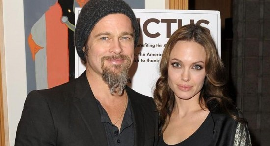 Brad Pitt is now with Angelina Jolie