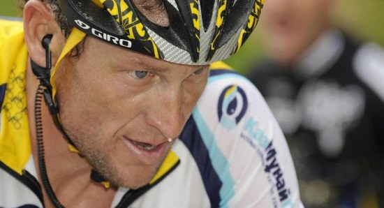 Lance Armstrong was found to be a drug cheat